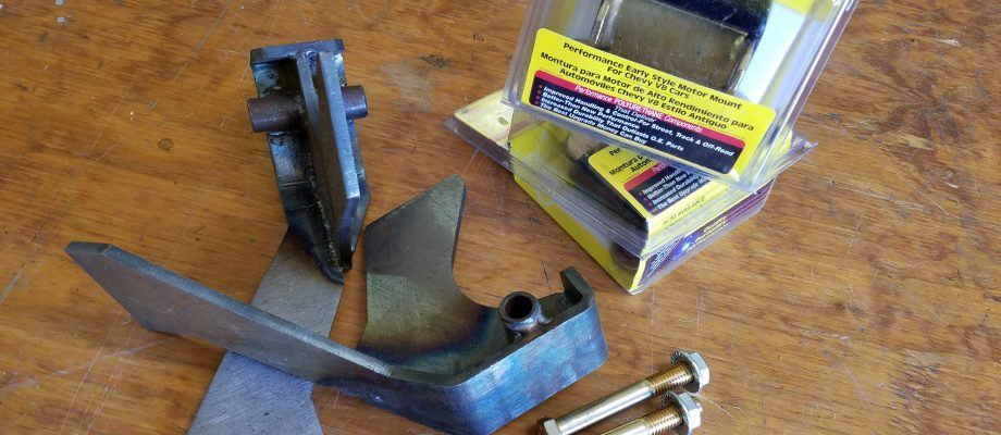1953-1966 Ford truck to GM Engine Mounts